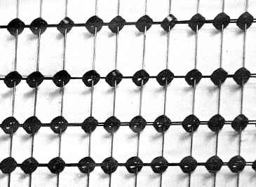 Magnetic core memory array