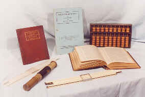 Abacus Tables and Slide Rules