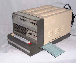 IME-86 Digicorder Program Unit & Punched Card
