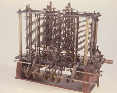 Analytical Engine - A portion of the Mill (1871). © Science Museum, London. Science & Society Picture Library.