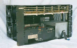 PDP-8/A 400 Inside the case.