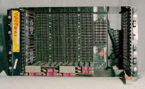 PDP-8/A 620 The Backplane.